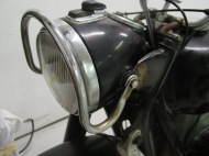 "The headlight ""halo"" was a popular accessory."