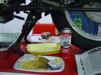 Breakfast on the lift, Carb-Kleen adds zest to any meal