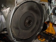 look below the pressure ring, MOUNDS of goo...