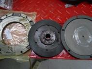 New clutch, pressure ring and pressure plate