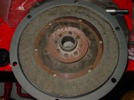 The heavy duty disk in place